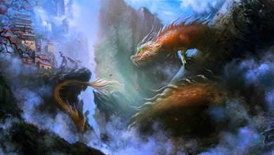 神話裡龍族有6個姓:1燭2元,3龍4敖,餘下2姓才是真正的萬龍之祖