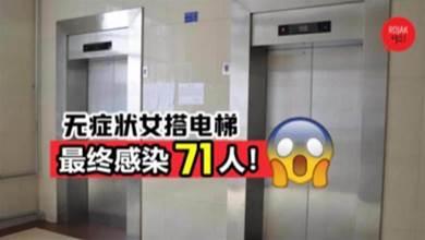 """戴口罩真的很重要!⚡ 研究: 無症狀女搭乘電梯! 最終導致70個""""陌生人""""確診""""新冠肺炎""""!"""