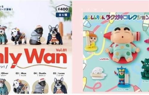 9月份「日本最新發售扭蛋精選」療癒動物、名偵探柯南和史努比!| 打翻玩具箱