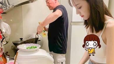 超仙女兒幫忙做菜!臉蛋身材都滿分 網友狂羨:我也想要這樣的女兒