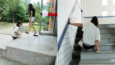5歲女孩意外失去雙腿,隨後又失去雙親,14年後靠雙手撐著挪動孤身走進大學