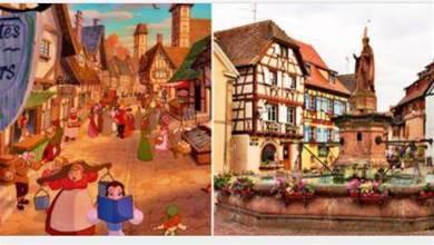 18 個真實世界的地點,原來是啟發《迪士尼王國》美景創作的來源!