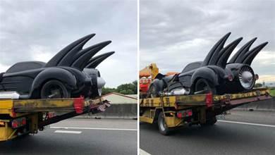 嘉義高速公路驚見蝙蝠車 捕捉畫面的人:懂車朋友猜周杰倫的