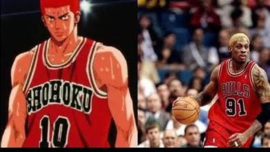 這是你的童年回憶嗎?盤點《灌籃高手》主角們所對應的NBA原型人物...難怪流川楓這麼強!
