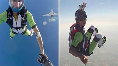 「親愛的,這次我不開傘了」跳傘好手拍「遺言影片」傳給愛妻後,從1萬英呎高空躍下