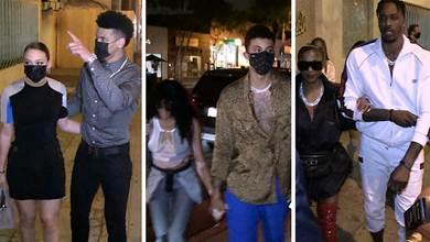湖人好萊塢慶祝派對曝光!球員帶伴侶赴宴遭記者狂拍,詹眉沒露面!