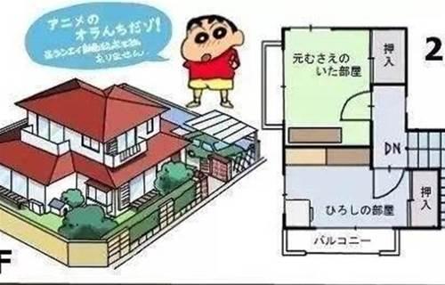 蠟筆小新一家的房子~私人獨棟別墅都不算有錢?年輕人的壓力還真是越來越大~