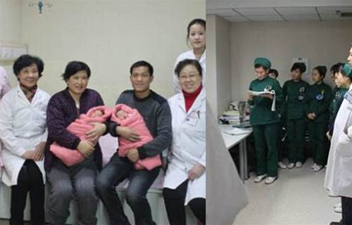 孕媽生出龍鳳胎,護士大聲報喜被開除,醫生:你沒眼力見嗎?