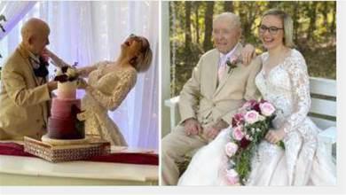 19歲女嫁89歲翁「譜爺孫戀」 說溜嘴「好想當寡婦」無情對話曝光