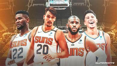 NBA冷知識!Booker效力太陽5年,一共和80位球員做過隊友!