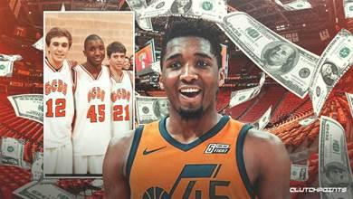 剛拿1.95億頂薪,Mitchell就捐款1200萬美元,而他下賽季的年薪僅519萬!