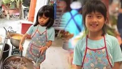 她才9歲!父母離異不管,小女孩開炸雞店做老闆,稚嫩肩膀「挑起養家重擔」照顧兩個弟弟~