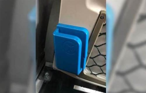 他疑惑「客運上這藍色盒子是什麼裝置?」內行人曝超讚用途:好先進啊!