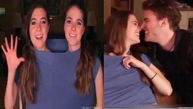 連體人姐妹花嫁給「同一個老公」!婚後「每晚」是這樣解決,讓她們超尷尬!