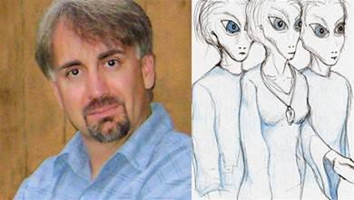 他自稱在八年內被外星人抓走11次,畫出「外太空地圖」讓專家好驚訝:是真的!