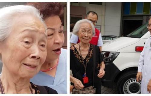 做零工存30年!87歲嬤「發願捐救護車」夢想成真喜落淚 遺憾「當年救不了母」:現在要救別人